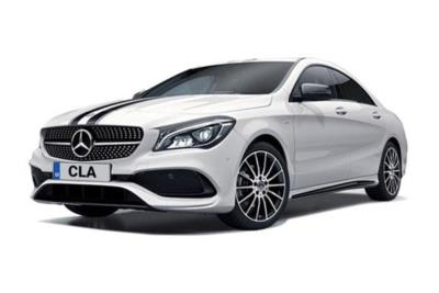 Mercedes Benz CLA Coupe Special Edition CLA 220d WhiteArt 4dr Tip Auto Business Contract Hire 6x35 10000