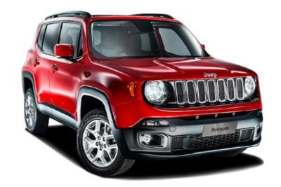 Jeep Renegade Hatchback 1.6 110ps E-torQ Evo Longitude 5dr 2WD 5Mt Business Contract Hire 6x35 10000