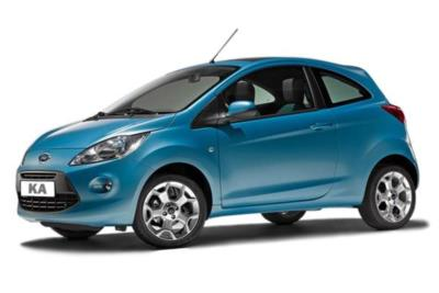 Ford Ka Hatchback 1.2 69ps Zetec 3dr 5Mt Business Contract Hire 6x35 10000
