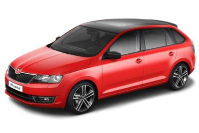 Skoda Rapid Spaceback Hatchback 1.2 Tsi 90ps Se Tech 5dr DSG Auto Business Contract Hire 6x35 10000