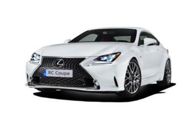 Lexus Rc Coupe 300h 2.5 220ps F-Sport CVT Auto 2dr (Sunroof/Navigation) Business Contract Hire 6x35 10000