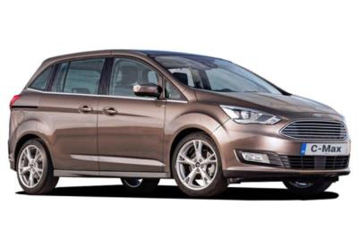 Ford Grand C-max Diesel Estate 1.5 Tdci Titanium 5dr Powershift Business Contract Hire 6x35 10000