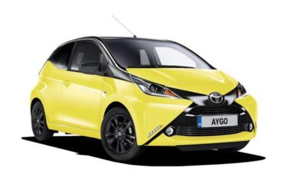 Toyota Aygo Hatchback Special Editions 1.0 Vvt-i i X-cite 3 5dr 5Mt Business Contract Hire 6x35 10000