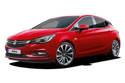 Vauxhall Astra Hatchback 1.4T 16V 125ps Design 5dr Business Contract Hire 6x35 10000