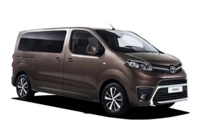 Toyota Proace Verso Diesel Estate 1.6 D Shuttle Medium (Nav) 5dr 6Mt Business Contract Hire 6x35 10000