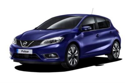 Nissan Pulsar Hatchback 1.2 DiG-T N-Connecta  (Smart Vision/AVM) 5dr Xtronic Business Contract Hire 6x35 10000