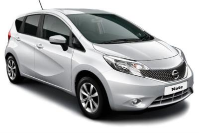 Nissan Note Hatchback Special Editions 1.2 Acenta Limited Edition 5dr 5Mt Business Contract Hire 6x35 10000