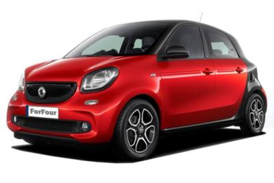 Smart Forfour Night Sky Hatchback 1.0 71ps Prime 5dr Start/Stop Auto Business Contract Hire 6x35 10000