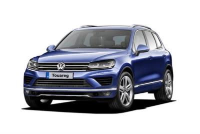 Volkswagen Touareg Diesel Estate 3.0 V6 Tdi BlueMotion Tech 262 R-Line 5dr Tip 8At Business Contract Hire 6x35 10000