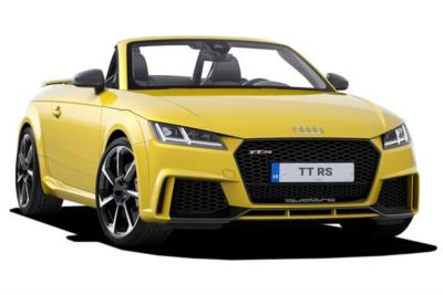 Audi Tt Rs Roadster 2.5 Tfsi Quattro 2dr S-Tronic Business Contract Hire 6x35 10000