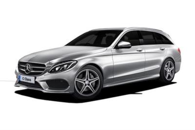 Mercedes Benz C Class Diesel Estate C220d 170ps AMG Line 9G-Tronic Auto Business Contract Hire 6x35 10000