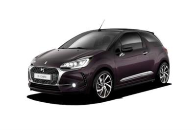 DS Ds3 Cabriolet 1.6 THP 210ps Performance (Black) 2dr Mt Business Contract Hire 6x35 10000