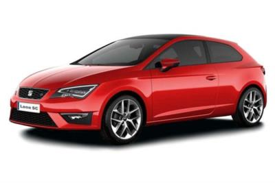 Seat Leon Diesel Sport Coupe 2.0 Tdi Cr 150ps FR Technology 3dr DSG Auto Business Contract Hire 6x35 10000