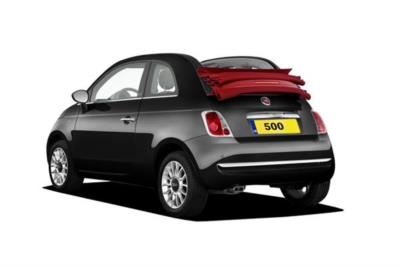 Fiat 500c Convertible 0.9 85ps Twinair Pop Star 2dr Dualogic 5At Business Contract Hire 6x35 10000