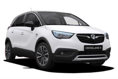 Vauxhall Crossland X Hatchback 1.2 81ps Tech Line Nav 5dr 6Mt Business Contract Hire 6x35 10000