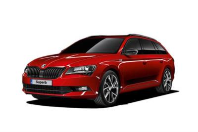 Skoda Superb Diesel Estate 2.0 Tdi Cr 190ps Se L Executive 5dr DSG 7 Speed Business Contract Hire 6x35 10000