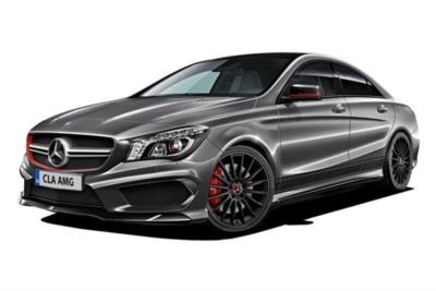 Mercedes Benz CLA Class Coupe 45 AMG 381ps 4dr 4Matic 7G-DCT Auto Business Contract Hire 6x35 10000