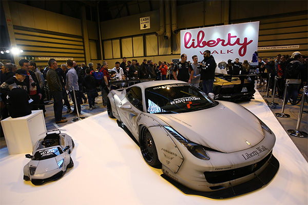 Liberty Walk EU Aventador to be unveiled for the first time at Performance Car Show alongside Autosport International