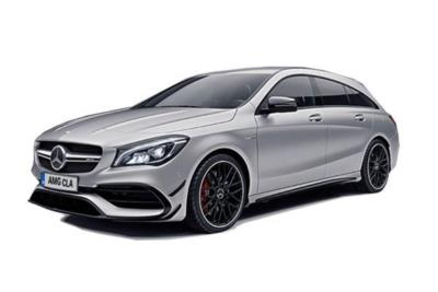 Mercedes Benz CLA AMG Shooting Brake 45 AMG  4Matic Tip Auto Business Contract Hire 6x35 10000