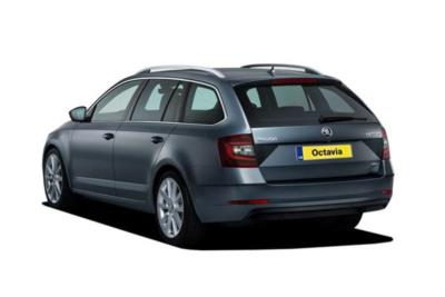 Skoda Octavia Estate 1.0 Tsi 115ps Se Technology 5dr DSG Auto Business Contract Hire 6x35 10000