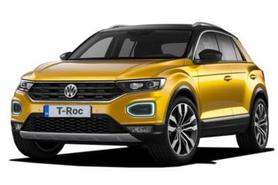 Volkswagen T-Roc Hatchback 2.0 Tsi Sel 4Motion 5dr Dsg Business Contract Hire 6x35 10000