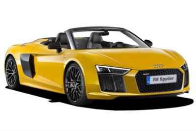 Audi R8 Spyder Special Editions 5.2 Fsi V10 540ps Rear Wheels Series 2dr S-Tronic 7At Business Contract Hire 6x35 10000
