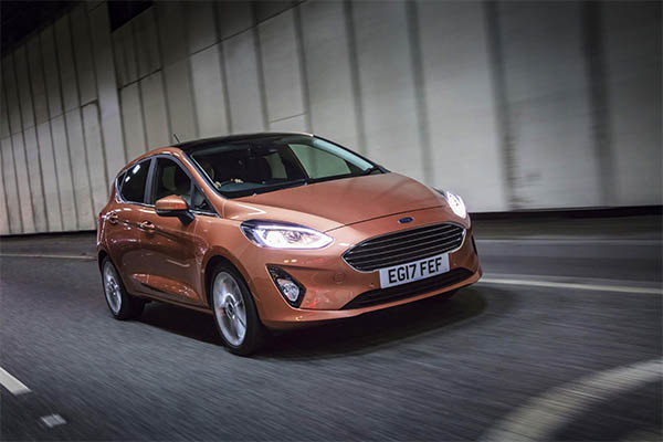Fiesta is UK's best-seller for ninth successive year and Ford records highest ever CV sales for 2017