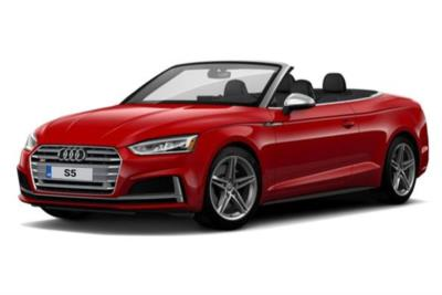 Audi A5 Cabriolet S5 Quattro 2dr Tiptronic Business Contract Hire 6x35 10000