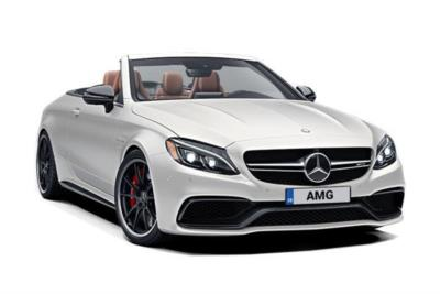 Mercedes Benz C Class AMG Cabriolet C63 S Premium 2dr Auto Business Contract Hire 6x35 10000