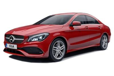 Mercedes Benz CLA Class Diesel Coupe 220d 177ps AMG Line 4dr 7G-Tronic Auto Business Contract Hire 6x35 10000