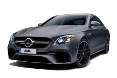 Mercedes Benz E Class AMG Saloon Special Edition E63 S 4Matic+ Edition 1 4Dr 9G-Tronic Business Contract Hire 6x35 10000