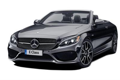 Mercedes Benz E Class Diesel Cabriolet E220d 4Matic AMG Line 2dr 9G-Tronic Business Contract Hire 6x35 10000