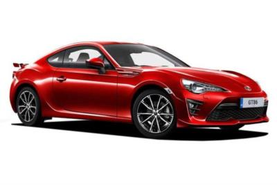 Toyota GT 86 Special Edition 2.0 D-4S Orange Edition 6Mt Business Contract Hire 6x35 10000