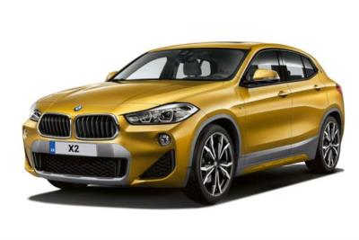 Bmw X2 Diesel Hatchback sDrive 18d SE 5dr Step Auto Business Contract Hire 6x35 10000