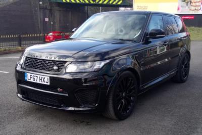 Land Rover Range Rover Sport Estate 5.0L V8 575 SVR 5dr Auto Business Contract Hire 6x35 10000
