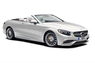 Mercedes Benz S Class AMG Cabriolet S63 [612] 2dr Auto Business Contract Hire 6x35 10000