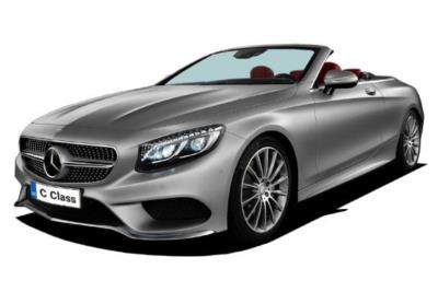 Mercedes Benz C Class Diesel Cabriolet C220d AMG Line Premium 2dr 9G-Tronic Business Contract Hire 6x35 10000