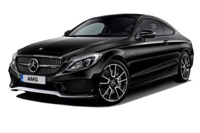 Mercedes Benz C Class AMG Coupe C43 4Matic Premium Plus 2dr 9G-Tronic Business Contract Hire 6x35 10000