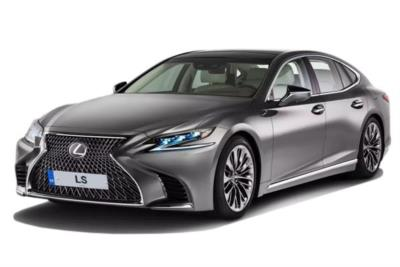 Lexus Ls Saloon 500h 3.5 Premier 4dr CVT Auto [Pleat] Business Contract Hire 6x35 10000