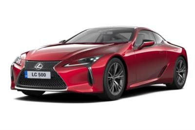 Lexus LC Coupe 500 5.0 2dr Auto Business Contract Hire 6x35 10000