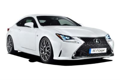 Lexus Rcf Coupe 500 5.0 [463] 2dr Auto [Plus Pack] Business Contract Hire 6x35 10000