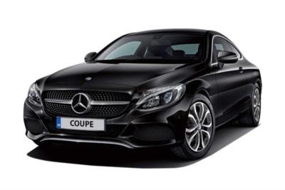 Mercedes Benz C Class Diesel Coupe C220d 4Matic AMG Line 2dr 9G-Tronic Business Contract Hire 6x35 10000
