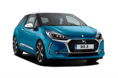 DS Ds3 Hatchback 1.6 THP 210ps Performance (Black) 3dr Mt Business Contract Hire 6x35 10000