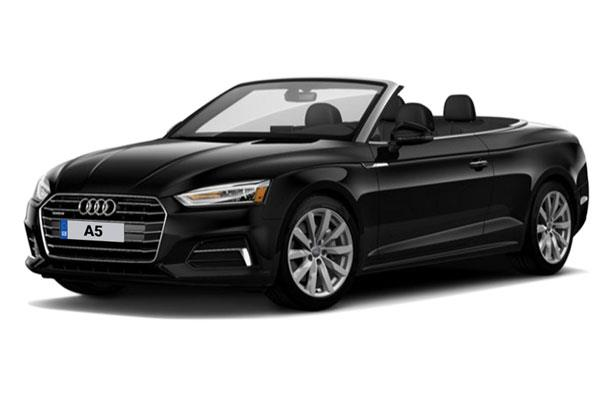 September reg Audi A5 68 plate leasing special from £292.02+ VAT per month