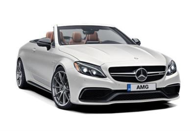 Mercedes Benz C Class AMG Cabriolet C63 Premium Plus 2dr 9G-Tronic Business Contract Hire 6x35 10000