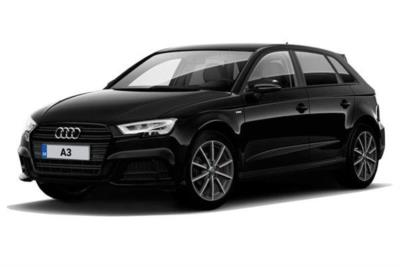Audi A3 Sportback 30 Tfsi 116 Black Edition 5dr Business Contract Hire 6x23 10000