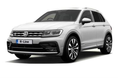 Volkswagen Tiguan Diesel Estate 2.0 Tdi 150ps BMT R-Line 5dr 4Motion DSG Auto Business Contract Hire 6x35 10000