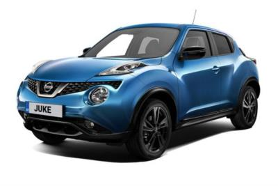 Nissan Juke Hatchback 1.6 [112] Bose Personal Edition 5dr CVT Business Contract Hire 6x35 10000