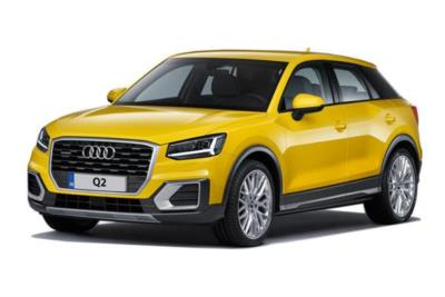 Audi Q2 Estate 35 Tfsi Black Edition 5dr S-Tronic [Tech Pack] Business Contract Hire 6x35 10000
