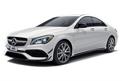Mercedes Benz CLA AMG Coupe 45 Night Edition 4Matic 4dr Tip Auto Business Contract Hire 6x35 10000